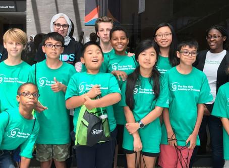 美國紐約科學院針對青少學童 免費跨國1對1培訓STEM未來之星