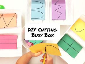 線條剪裁練習盒 - 幼兒藝術