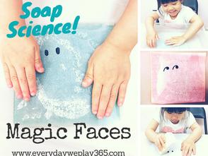 神奇肥皂臉譜現形 - 幼兒科學(化學)