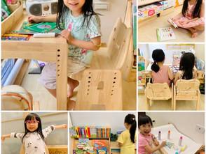 以孩子為本 終生保修 高質感實木 環安傢俱【幼兒成長桌椅】系列 給寶貝最安心的成長環境