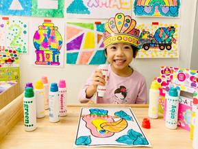 藝術數學   精細動作   創意激發【美國幼兒園必備】Do-A-Dot Art點點彩色筆 滿足0-7歲幼兒自由塗鴉的樂趣