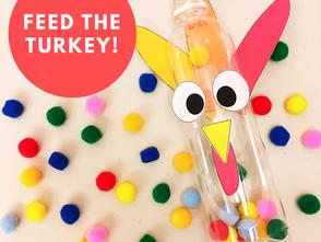 感恩節火雞投食遊戲 - 幼兒數學