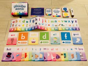 自然發音 | 遊戲字卡 | 適用各種幼兒英語教學法的必備輔助教材Phonics Cards《自然發音遊戲字卡》 | KidsRead點讀筆