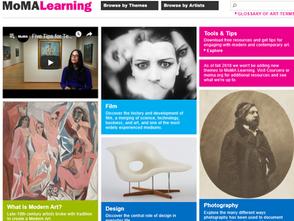 免費落實美感教育!紐約現代藝術博物館線上學習平台MoMA Learning