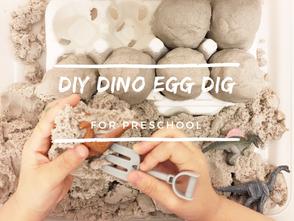 恐龍蛋考古挖掘盒 - 幼兒生物