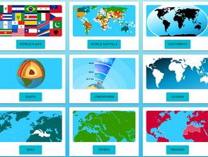 免費地理科學網站:輕鬆動動手指頭 快樂玩學世界地理《World Geography Games》