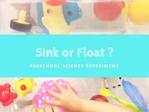 簡單浮力實驗遊戲 - 幼兒物理
