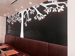 壁画・ウォールペイント・ボタニカルアート