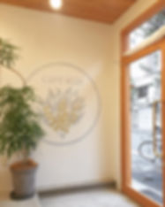 Cafe icoi 壁画・ロゴペイント
