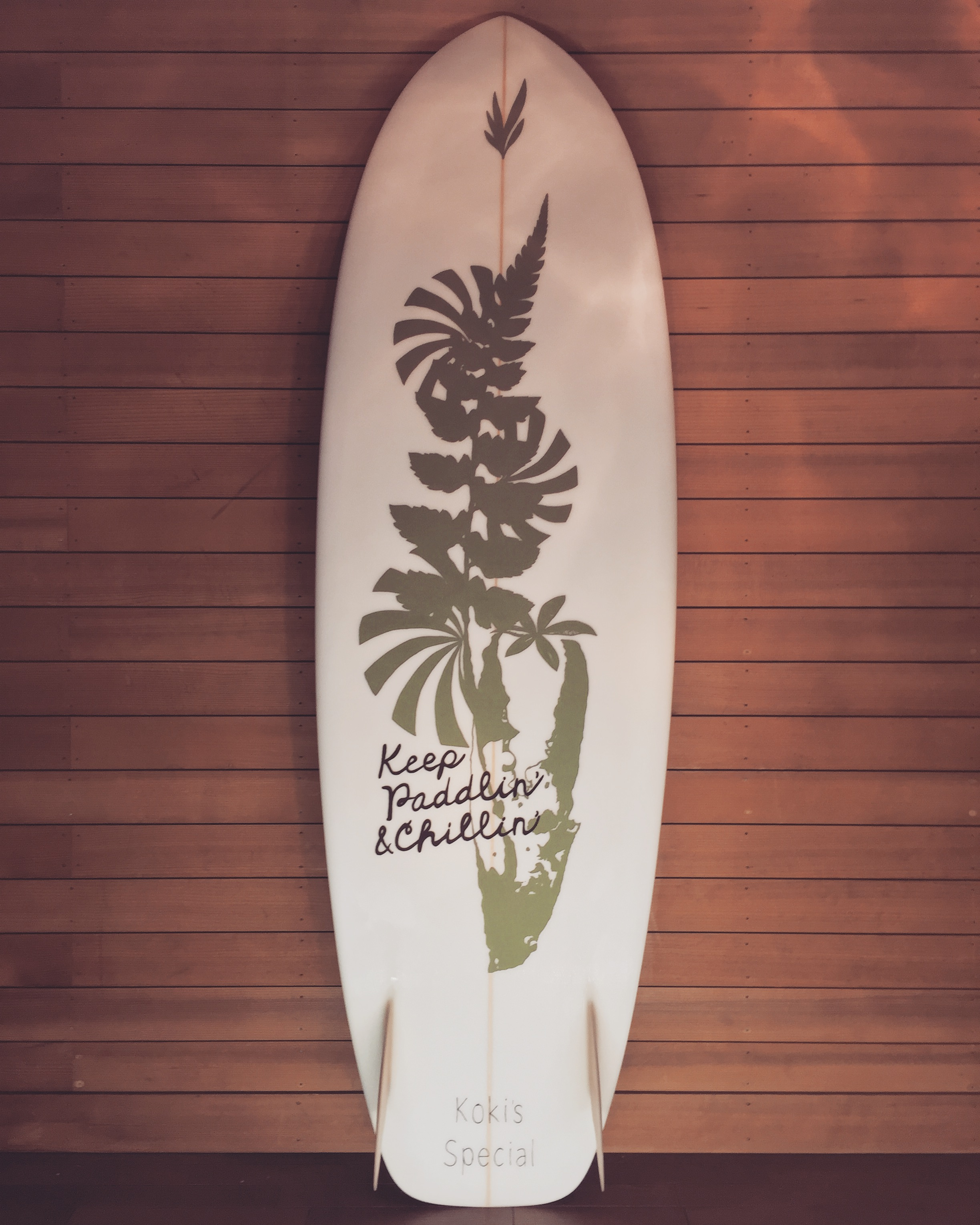 surf board art