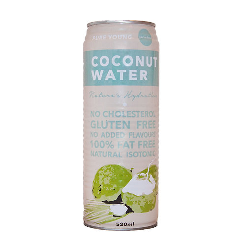 Pure Young Coconut Water 24x520ml