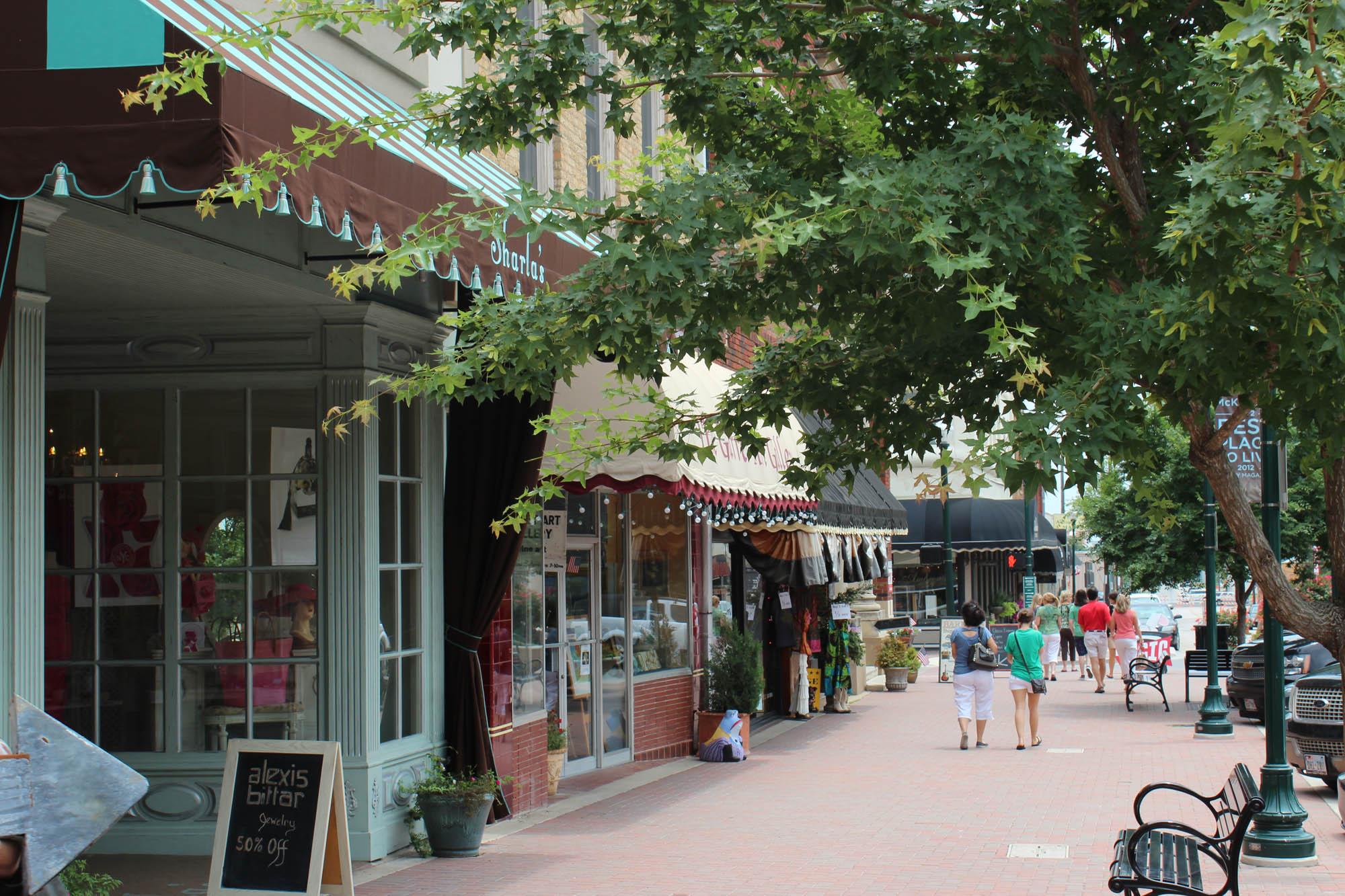 Downtown-McKinney-Shops