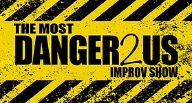 The Most Danger2us Improv Show Logo