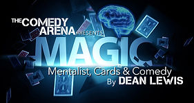 The Magic of Dean Lewis Logo