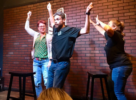 A Slice of McKinney, TX: Improv at The Comedy Arena