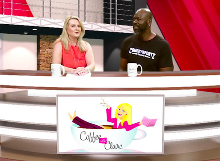 ComedySportz Dallas - DFW has Coffee with Claire - S1 Episode 4