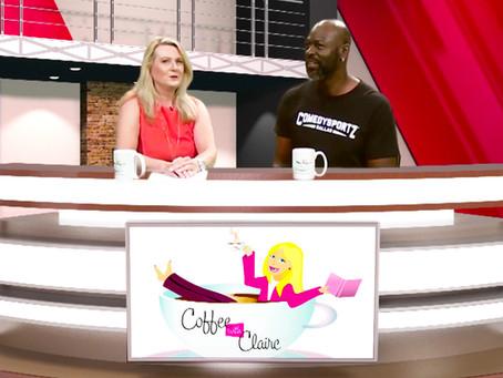 ComedySportz Dallas - DFW has Coffee with Claire - S1 Episode 4