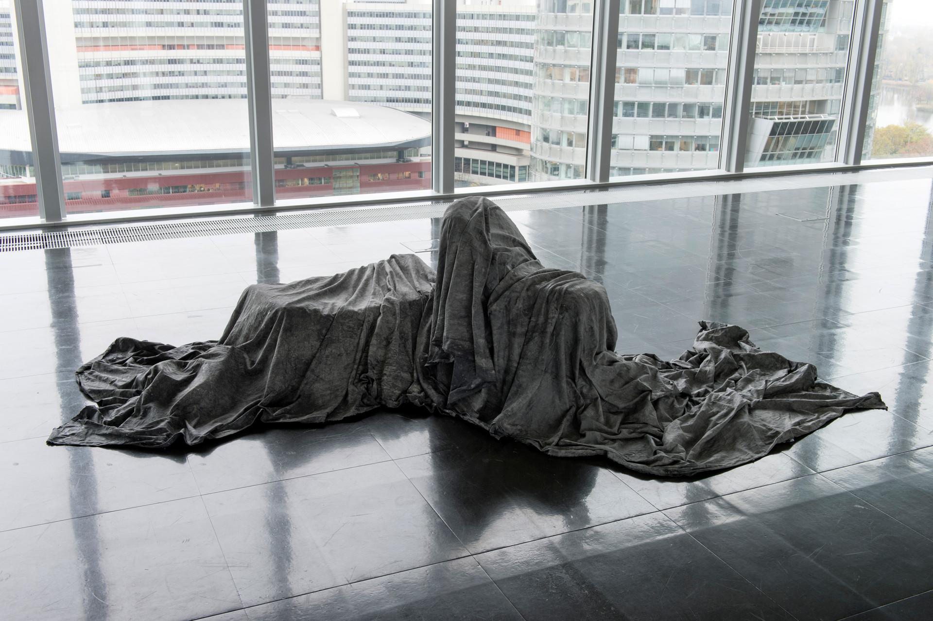 mahroum-ausgeschlossen (excluded). strabag kunstforum. 2019. pic by rudi froese