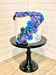 Blue & Purple Rossete Cake YE.jpeg