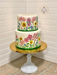Hand painted flowers cake YE.jpeg
