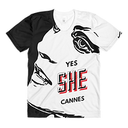 yes she cannes tshirt top
