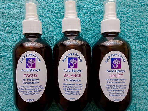 Aura Sprays (Clearance Stock)