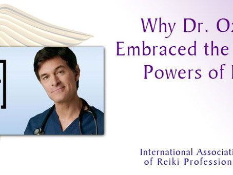 Dr Oz and The Healing Powers of Reiki