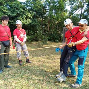 山藝繩索運用~繩索拯救-最好的三級山藝領袖課程1.jpg