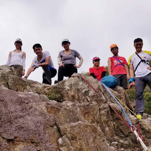 好玩的二級山藝課程~山藝繩索運用~雙鹿石澗~千絲瀑2.jpg