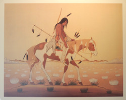 Sioux Mourning Rider