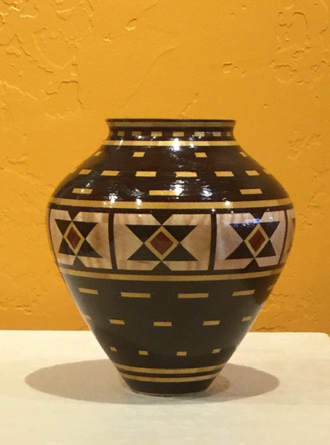 Wooden vessel #26