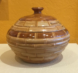 Wooden Vessel #25