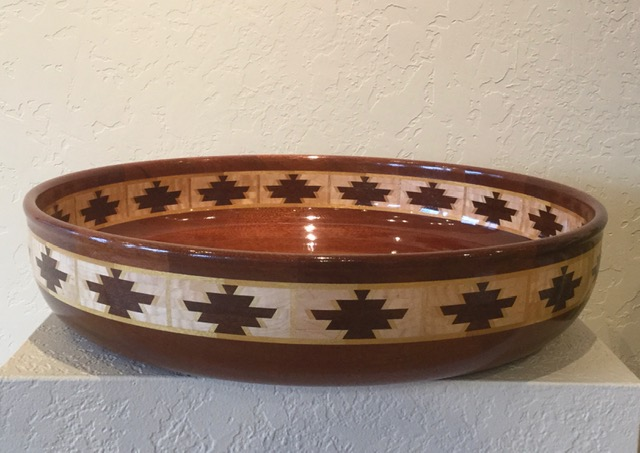 Large wooden vessel #16