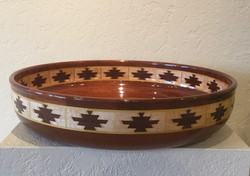 Large wooden vessel #16