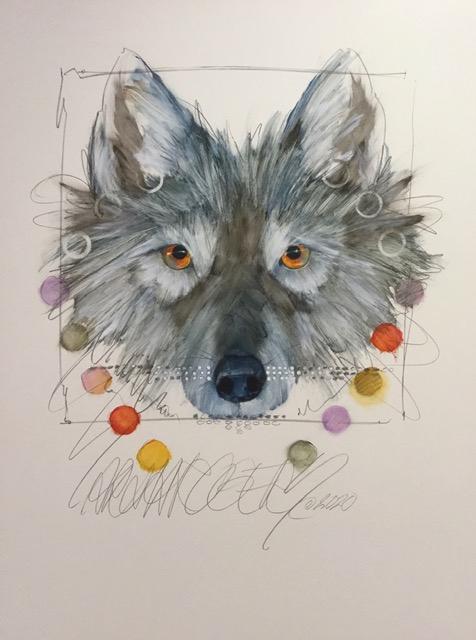 Spirit  (Grey Wolf)