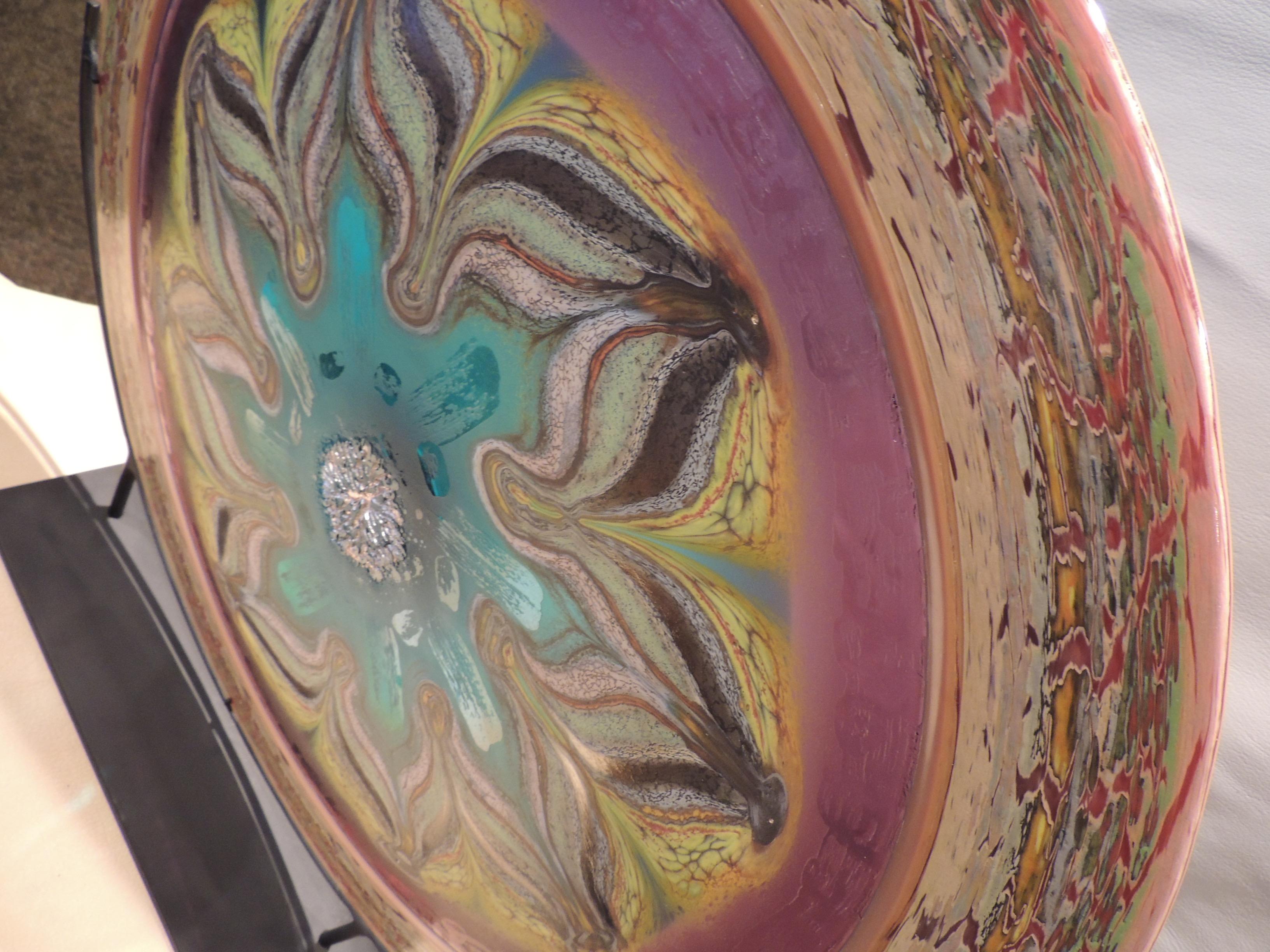 Mandala - Amethyst & Aqua