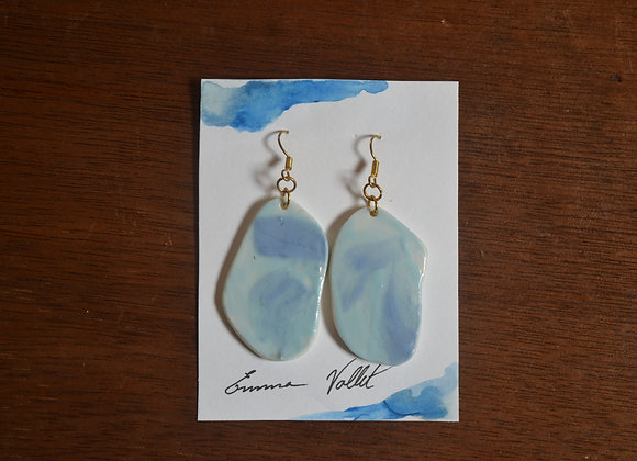 "Boucles ""Blue Sky"""
