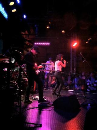 w/ Knower live at Troubadour LA
