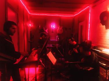 Recording w/ Jacob Mann, Sam Wilkes, Tamir Barzilay