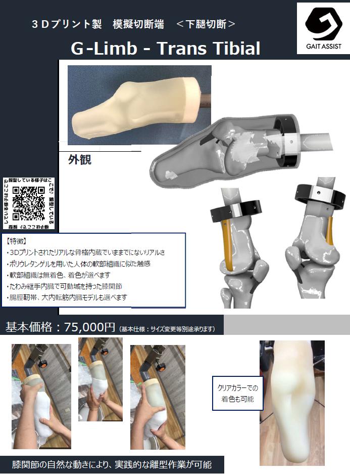 G-limb_Trans tibial PDFファイルのダウンロード