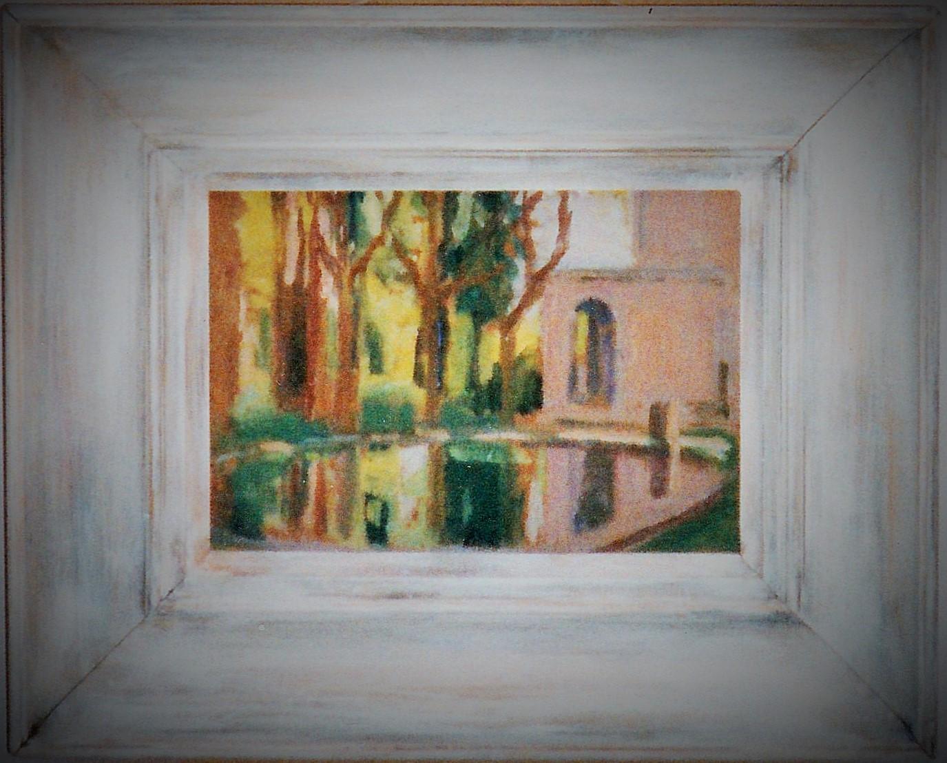 Cadre et peinture