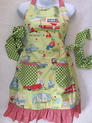 LeAna's Happy Camper Trailer Apron