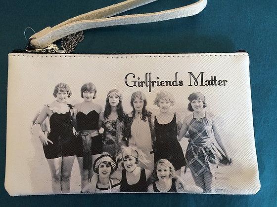 Girlfriends Matter Wristlet Purse