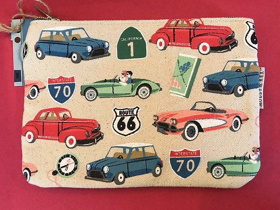 Zipper Pouch - Road Trip
