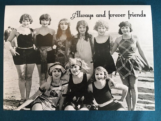Greeting Card - Always and forever friends