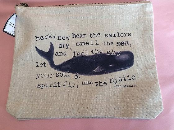 Zipper Pouch - Whales
