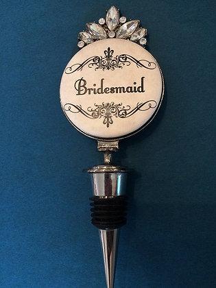 Bridesmaid Wine Stopper