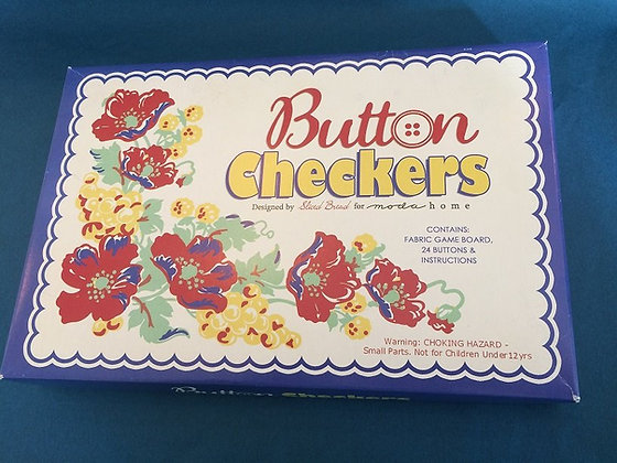 Button Checkers Game