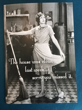 Greeting Card - You missed it!