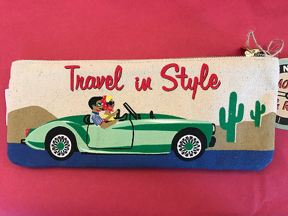 Zipper Pouch - Travel in Style